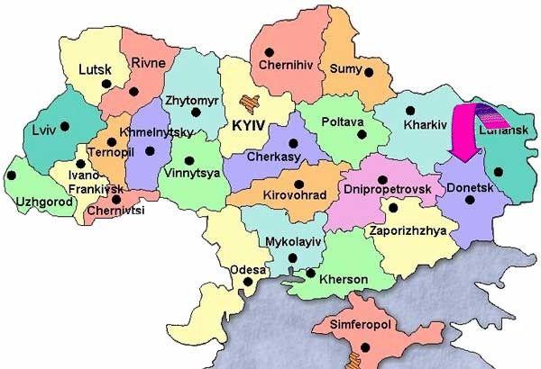 Donetz entre Crimée et Russie