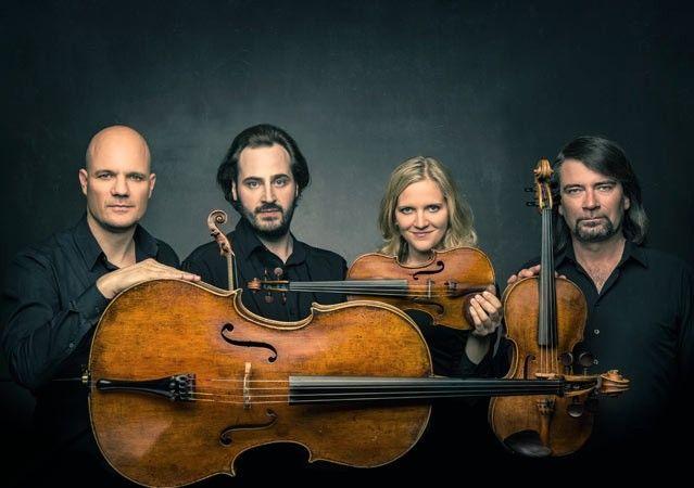 le Quatuor Artemis, quatuor à cordes : Vineta Sareika - Gregor Sigl, violons - Friedemann Weigle, alto - Eckart Runge, cello