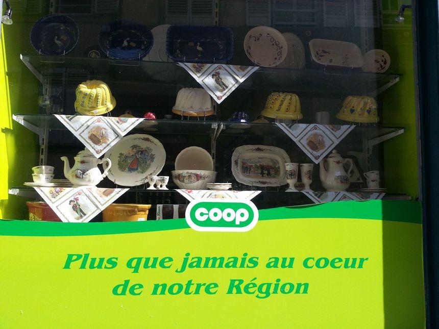 La Coop fidèle aux produits régionaux