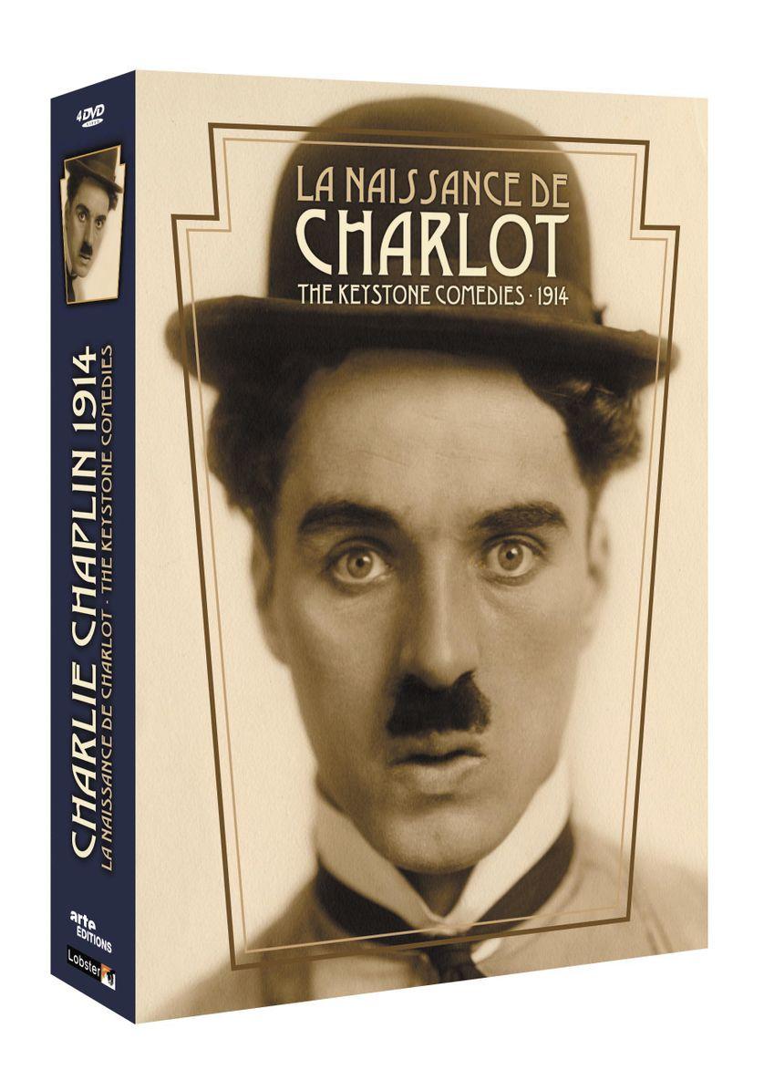 Chaplin : Coffret Keystone 1914