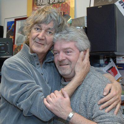 Jacques Higelin et Bernard Chérèze