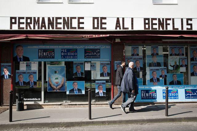 la permanence d'Ali Benflis, l'un des six candidats à la présidentielle