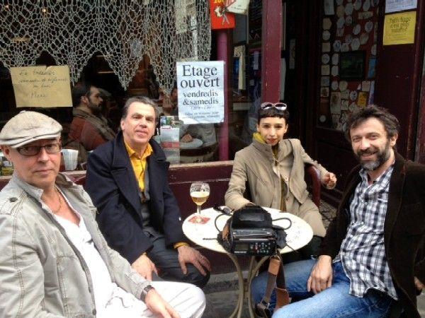 Eric Lacascade avec ses comédiens