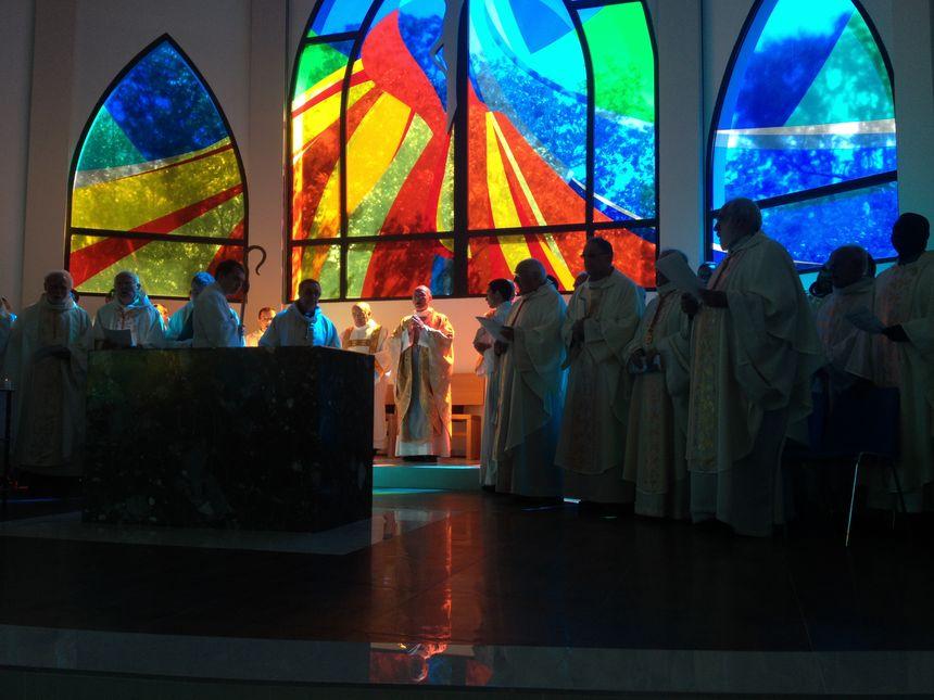 Dernière célébration à Perpignan pour Monseigneur Marceau qui part à Nice