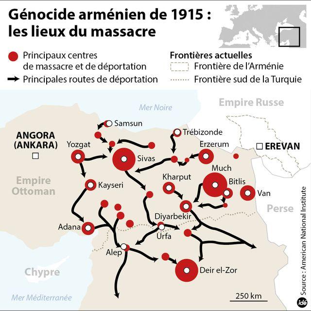 Génocide arménien : les condéolances d'Erdogan
