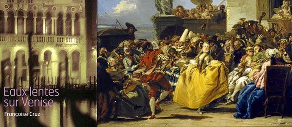 """""""Eaux lentes sur Venise"""", de Françoise Cruz (éditions Naïve). © Aisa / Leemage"""