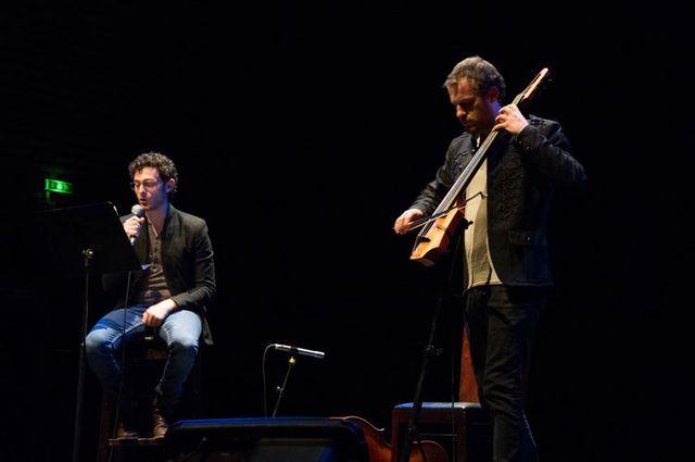 Jean Baptiste Del Amo avec Sébastien Grandgambe / Escale du Livre
