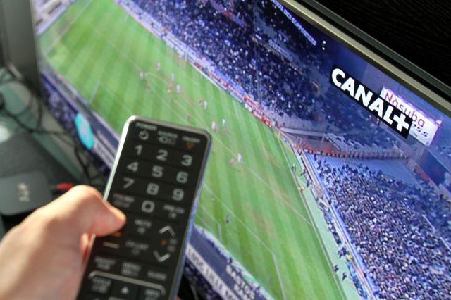 Le foot sur Canal +