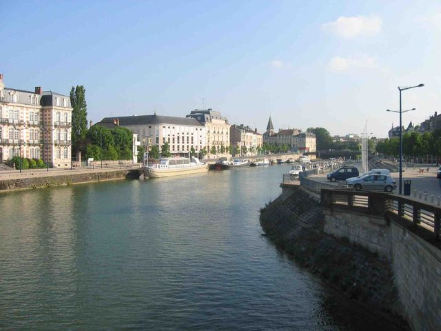 Verdun, les quais