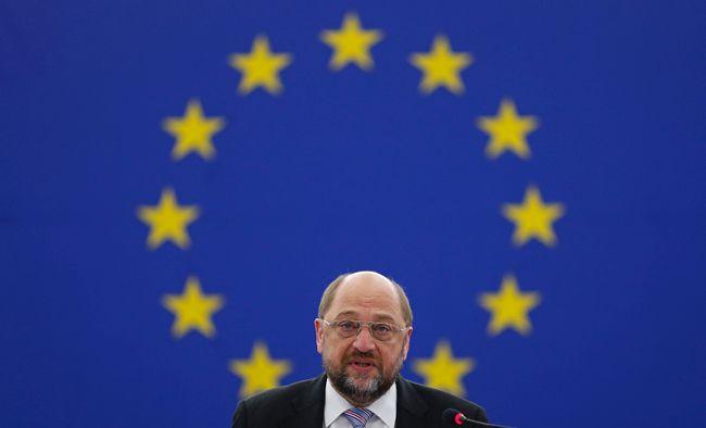 Martin Schulz, président du parlement européen de Strasbourg
