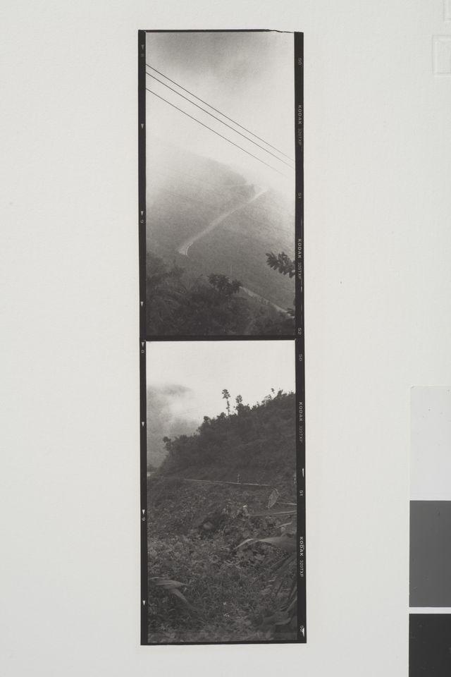 _ Le Col des Nuages, Vietnam, été 2005, épreuve pigmentaire au sel de chrome, carbon print, 6 x 18 cm