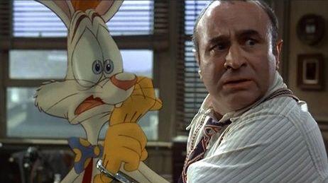 """Bob Hoskins dans """"Qui veut la peau de Roger Rabbit ?"""""""
