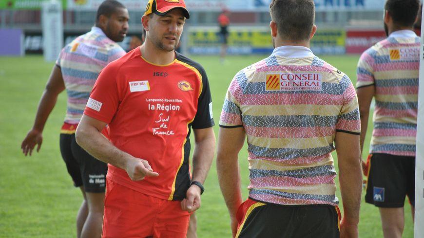Jérôme Guisset, entraîneur des Dragons catalans