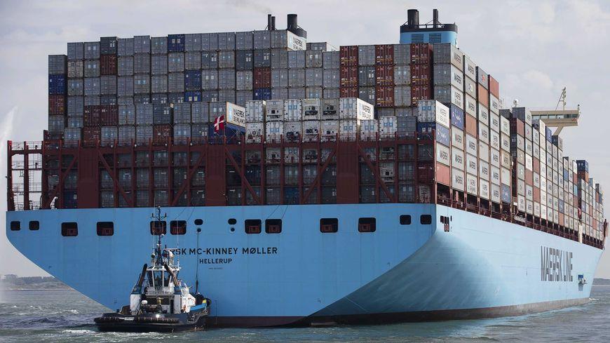 Comment piloter un porte conteneurs g ant - Porte conteneur le plus grand ...