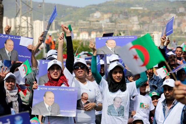 supporters d'Abdelaziz Bouteflika