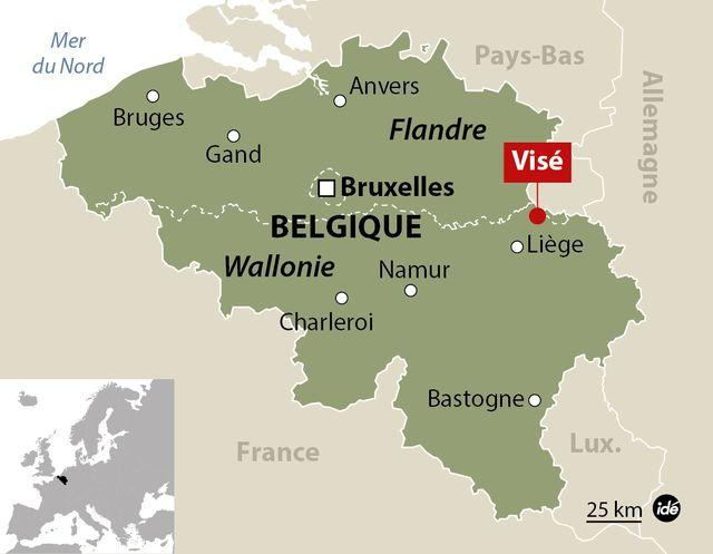 Une fusillade près de Liège en Belgique