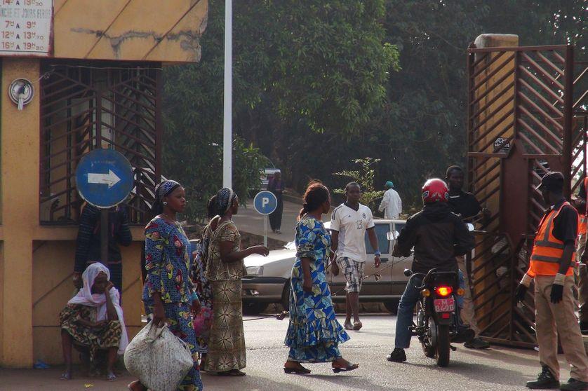 Un hôpital de Guinée