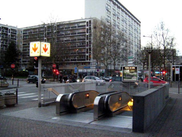 Station de métro à Lille