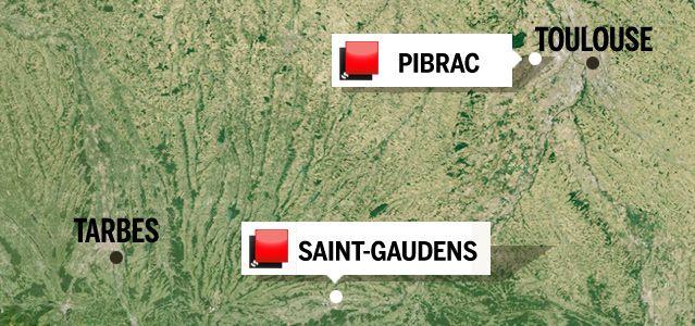 Carte du jeu des 1000 euros - Haute-Garonne 2