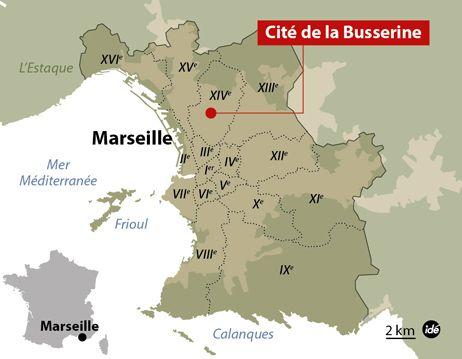 Un homme tué par balles à Marseille