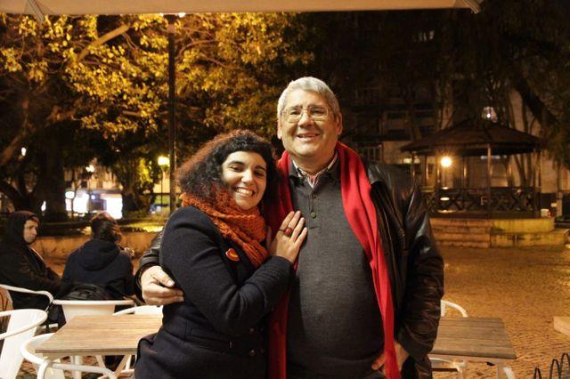 Joanna et son père