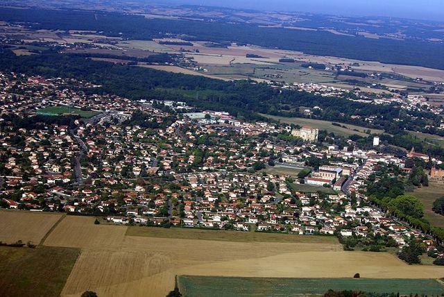 Pibrac (Haute-Garonne) - Vue aérienne
