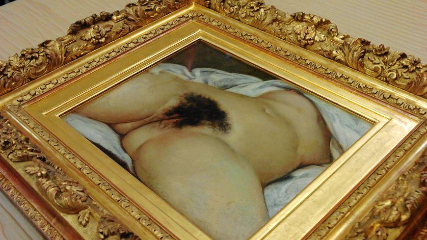 """L'""""Origine du Monde"""", peint par Gustave Courbet en 1866."""