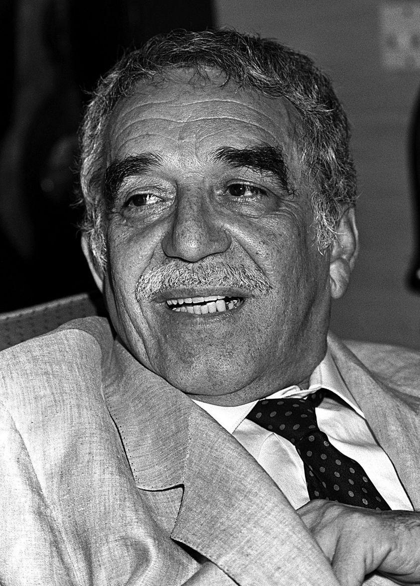Gabriel Garcia marquez en 1989