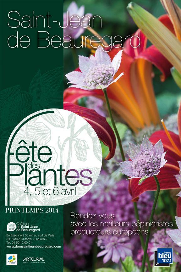Fête des plantes à Saint-Jean-de-Beauregard