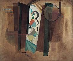 """Kandinsky, """"Développement en brun"""" (1933)"""