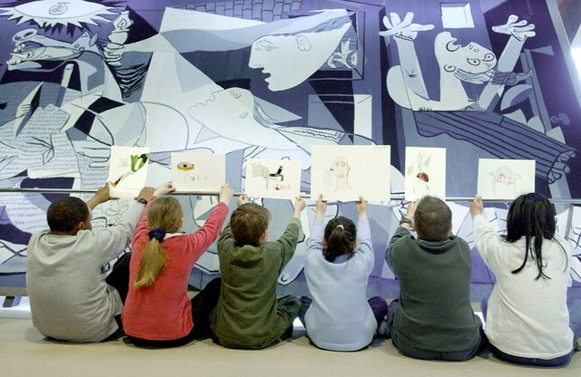 Exposition Guernica- Une tapisserie en 2004