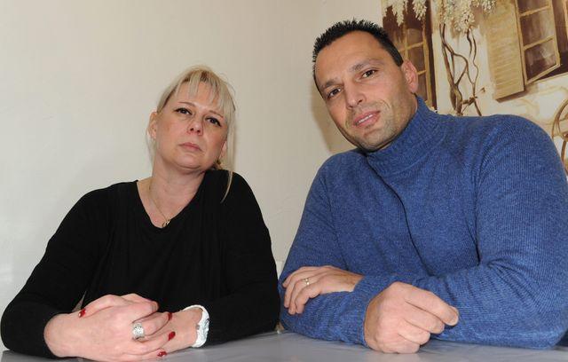 Lydie et Christophe Germain, les parents de Mathys