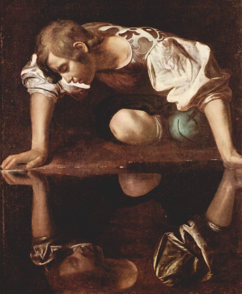 Narcisse, vers 1598