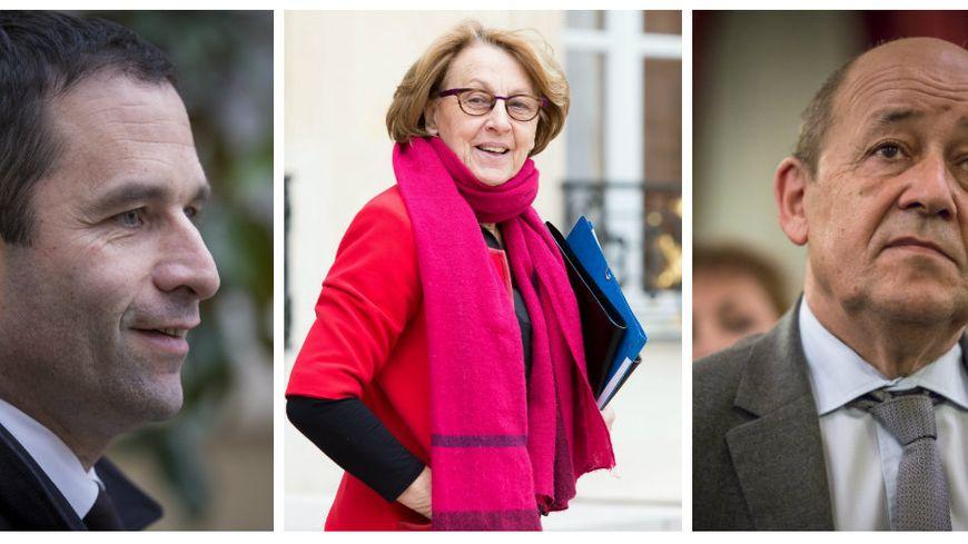 Les trois ministres bretons sont reconduits dans le gouvernement de Manuel Valls