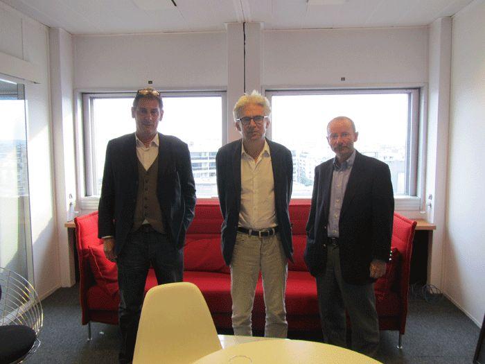 François Ernenwein, William Bourdon et Bertrand Warusfel