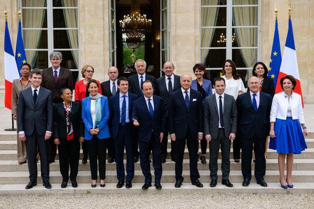 La photo de famille du gouvernement