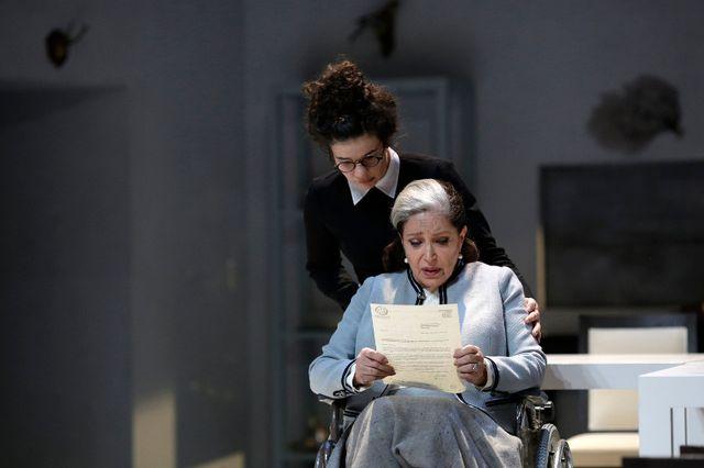 F Fabian dans Tartuffe Luc Bondy