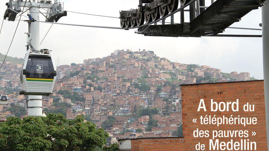 En Colombie, des téléphériques POMA contre la délinquance