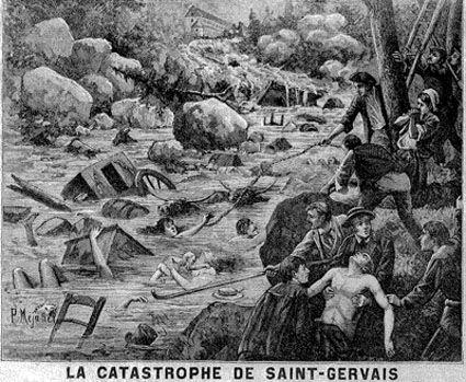 La catastrophe de Saint-Gervais