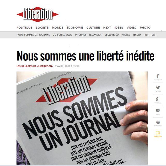 Nous sommes un journal
