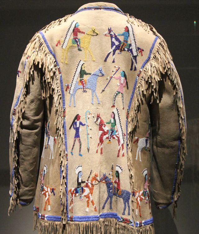 Manteau d'homme - 1920 artiste Lakota