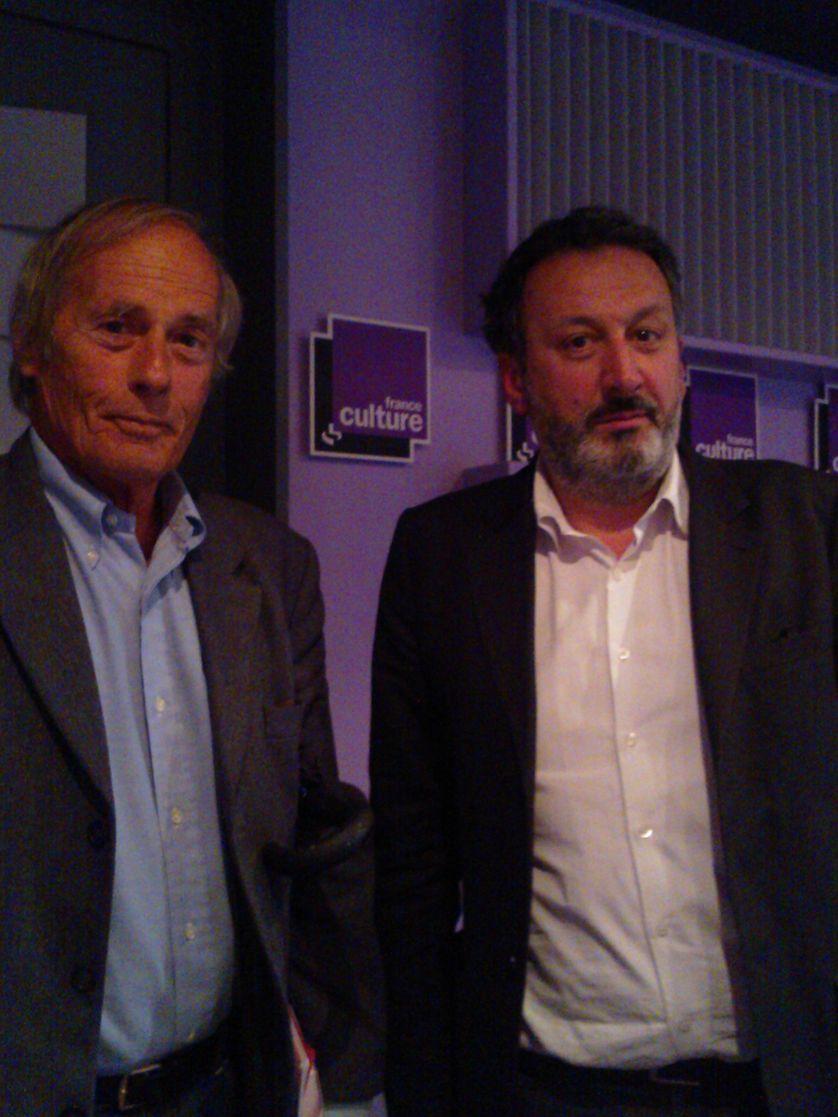 Gérard Lenclud et Sylvain Bourmeau