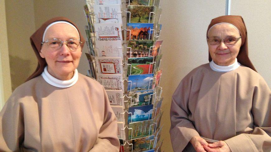 Soeur Marie Bernadette et Soeur Marie Armelle, dernières Clarisses de Rennes