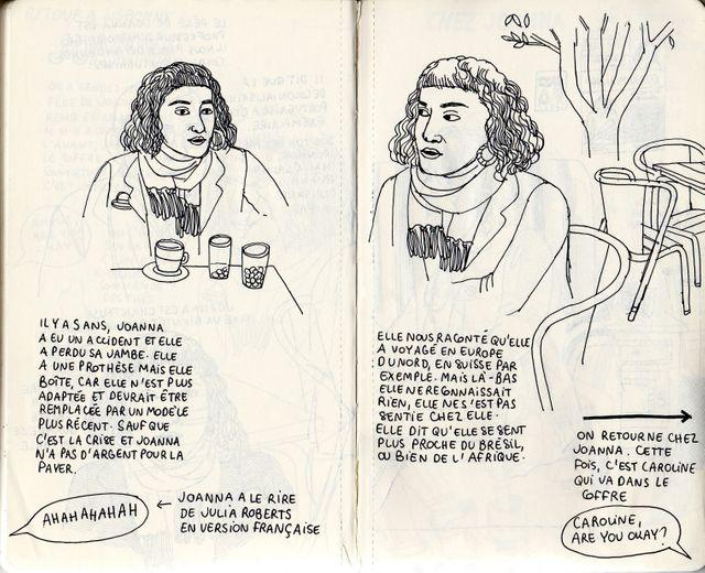 Joanna dans les carnets d'Amélie Fontaine 2