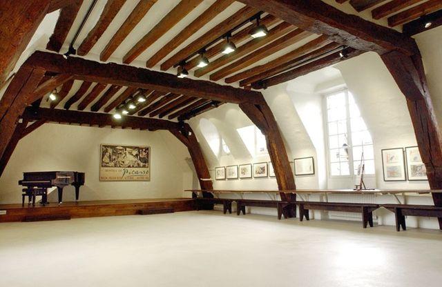 Le grenier, atelier de Pablo Picasso de 1936 à 1955