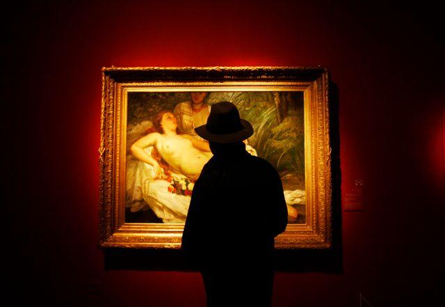 Oeuvre de Gustave Courbet spoiliée par les nazis