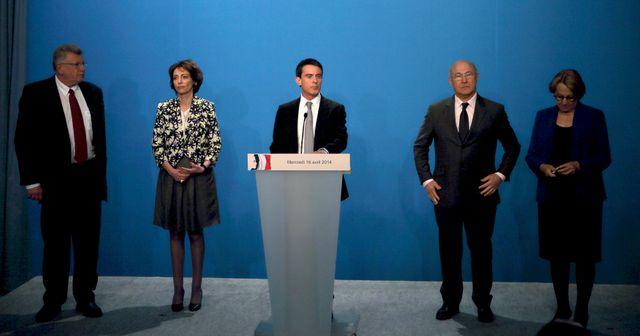 Manuel Valls détaille le plan d'économies