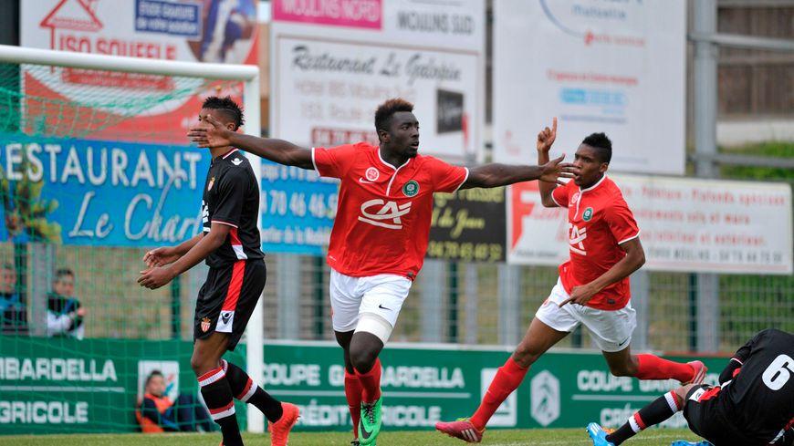Grejohn Kyei a une nouvelle fois inscrit un doublé face à Monaco (archives)