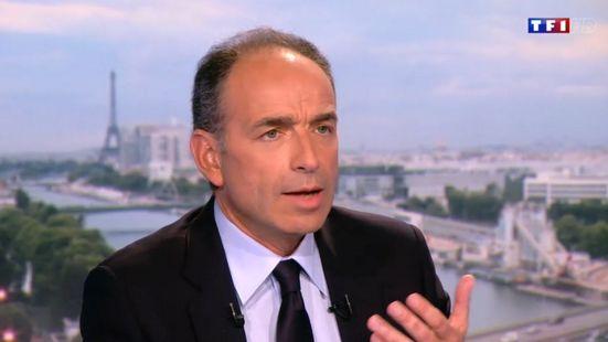 Jean-François Copé sur le plateau du JT de TF1
