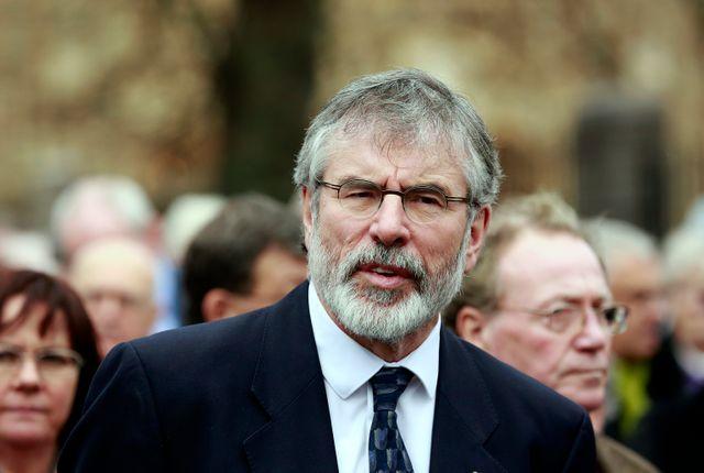 Gerry Adams interrogé par la police sur un meurtre commis par l'IRA
